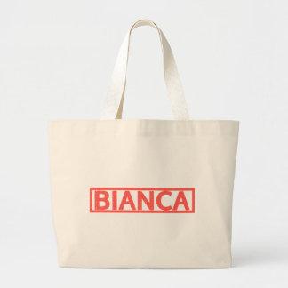 Bianca Stamp Jumbo Tote Bag