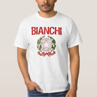 Bianchi Italian Surname T-Shirt
