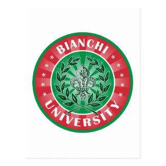 Bianchi University Italian Postcard