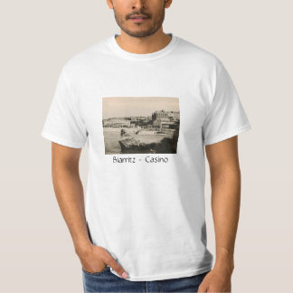 Biarritz - Casino on the beach T-shirt