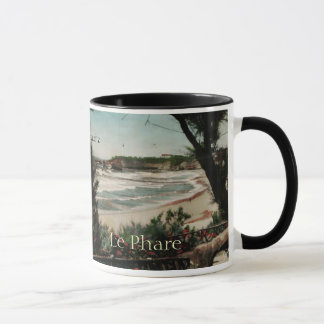 Biarritz Le Phare France Lighthouse Mug