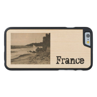 BIARRITZ - Rocher de la Virge France 1920 Carved® Maple iPhone 6 Slim Case