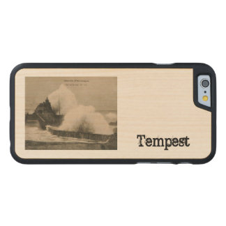 Biarritz Ruse de Marée Tempest 1920 Carved® Maple iPhone 6 Case