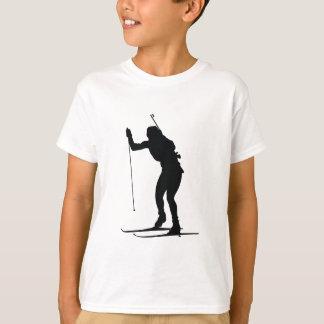 Biathlete Silhouette T-Shirt
