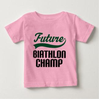 Biathlon Champ (Future) Baby T-Shirt