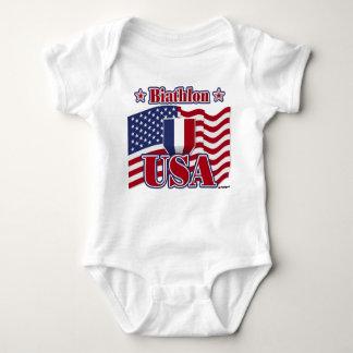 Biathlon USA Baby Bodysuit