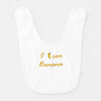 Bib I love Banana