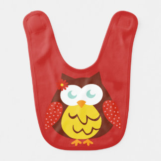 Bib Red Owl
