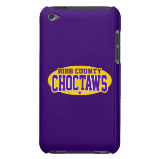 Bibb County High School; Choctaws iPod Case-Mate Case