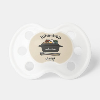 Bibimbap Korean rice bowl namul vegetables egg Dummy