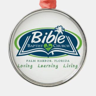 Bible Baptist Church Logo Items Christmas Ornament