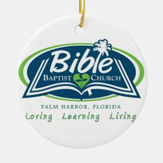 Bible Baptist Church Logo Items Christmas Tree Ornament