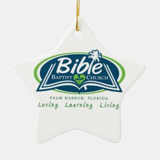 Bible Baptist Church Logo Items Christmas Tree Ornaments