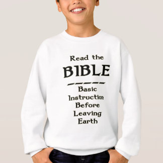 Bible - Basic Instruction Before Leaving Earth T-shirt