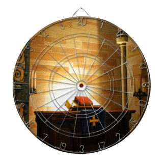 Bible Dartboard With Darts