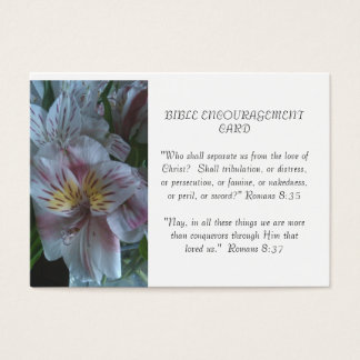 Bible Encouragement Card