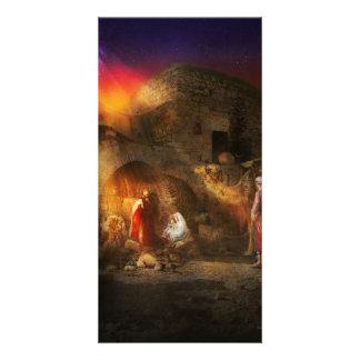 Bible - Jesus - Seeking the Christ child 1920 Customized Photo Card