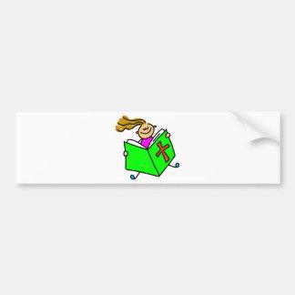Bible Kid Bumper Sticker