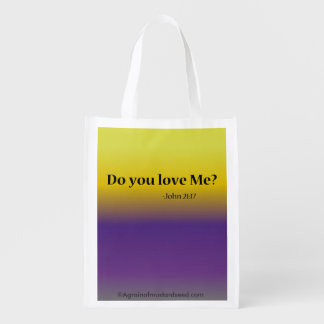 Bible Quotes Market Tote
