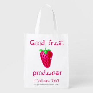 Bible Quotes Reusable Grocery Bag