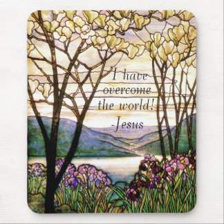 Bible Scripture Christian Inspiration Mouse Pad