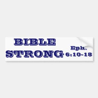 BIBLE STRONG,  Bumper Sticker