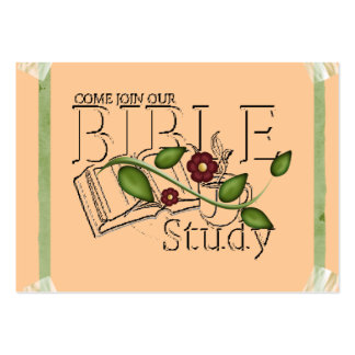 Bible Study Profile Card Pack Of Chubby Business Cards