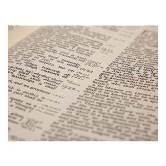 Bible Text Flyer Design