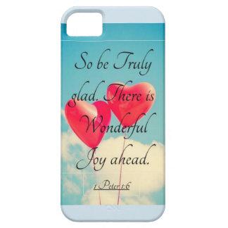 Bible Verse 1 Peter 1:6 Tough Phone Case