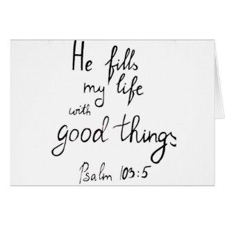 Bible verse by Angela Cross Card