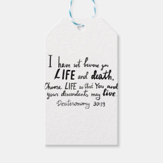 Bible verse by Angela Cross Gift Tags