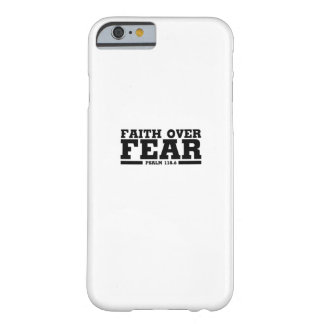 Bible Verse Christian Jesus Faith Over Fear Psalm Barely There iPhone 6 Case