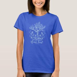 Bible Verse Grow in Grace T-shirt