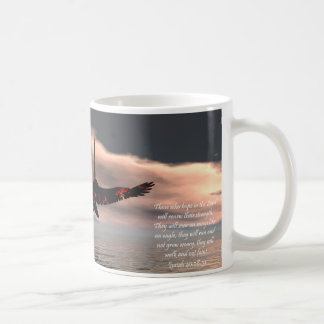 Bible Verse Isaiah 40: 28-31 with Eagle Coffee Mug