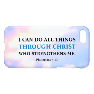 Bible Verse Life Quote Zazzle iPhone 8/7 Case