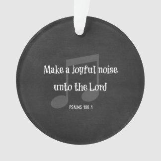 Bible Verse: Make a Joyful Noise