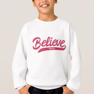 Bible Verse Mark 5:36 in stylish typography Sweatshirt