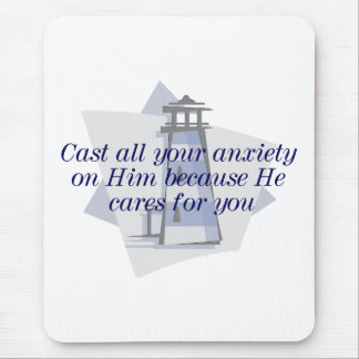Bible Verse Mousepad. Mouse Pad