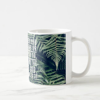 Bible Verse Mug - Center Print View