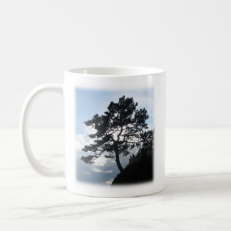 Bible verse mug with photo of mountain