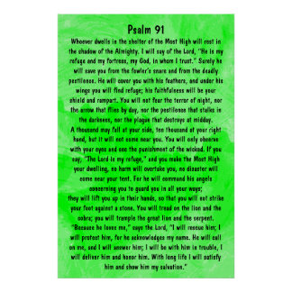 bible verse Psalm 91 Poster