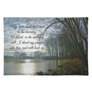 Bible Verse Scripture Prayer Placemat