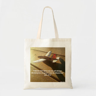 Bible Verses from the Book of Job Tote Bag