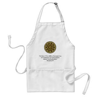 Bible Verses Wisdom Quote Saying Proverbs 1:7 Standard Apron