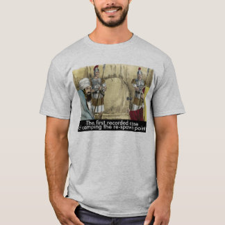 Biblical Camping the Re-Spawn Point T-Shirt