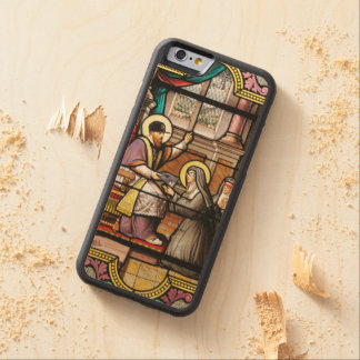 Biblical hip-hop carved maple iPhone 6 bumper case