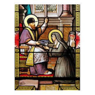 Biblical hip-hop postcard