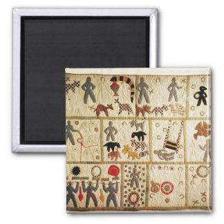 Biblical quilt, Virginia Square Magnet