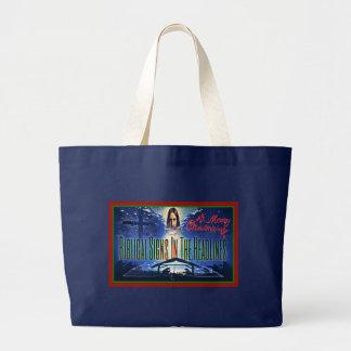"Biblical Signs ""Christmas"" Large Tote Bag"