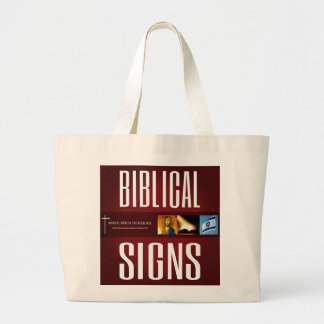 Biblical Signs ITH 2018 Logo Tote Bag (Large)